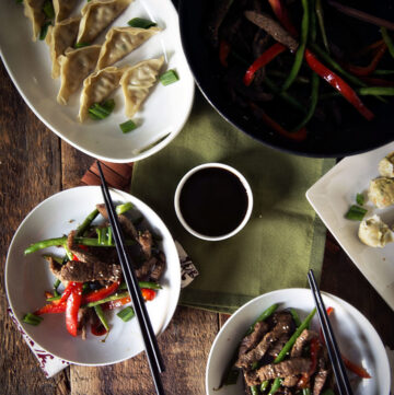 Sesame Steak Stir Fry | Kita Roberts GirlCarnivore.com