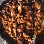 Slow Smoked Pork and Beans | Kita Roberts GirlCarnivore.com