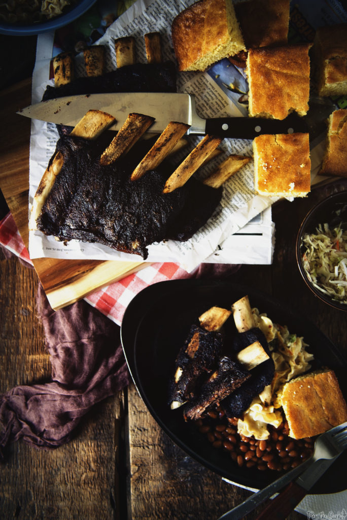 Texas Style Barbecue Beef Ribs | Kita Roberts GirlCarnivore.com