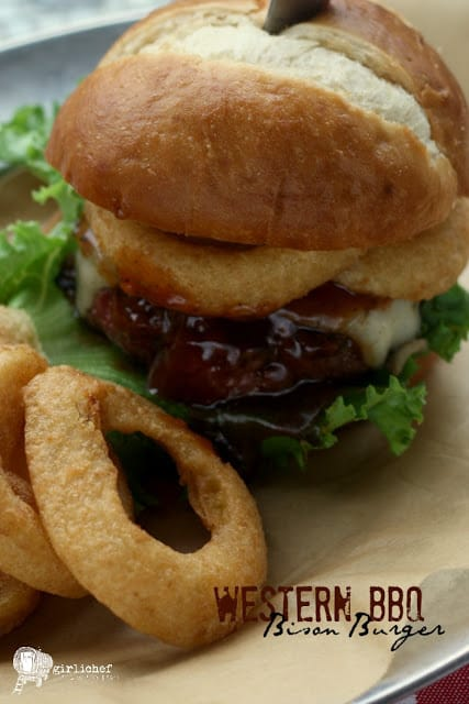 Western BBQ Bison Burgers_008 words