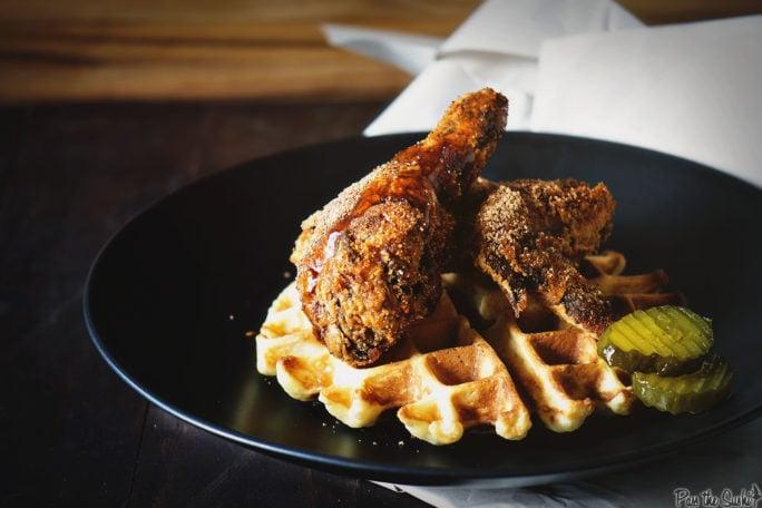 Brown Sugar Chicken and Waffles | Kita Roberts GirlCarnivore.com