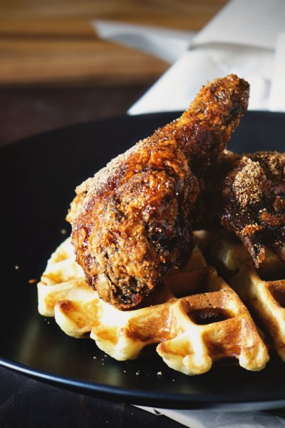 Brown Sugar Chicken and Waffles | Kita Roberts GirlCarnivore.com