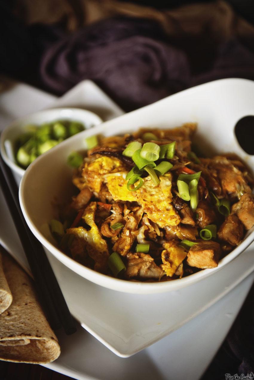 Moo Shu Pork Recipe | Kita Roberts Girl Carnivore.com