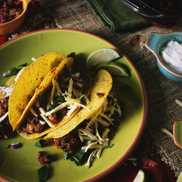 Baked Sloppy Joe Tacos | Kita Roberts GirlCarnivore.com