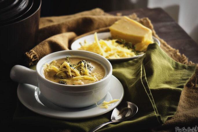 Cheesy Chicken and Broccoli Soup   Kita Roberts GirlCarnivore.com