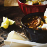 Grilled Chicken Tequila Tortilla Soup | Kita Roberts GirlCarnivore.com
