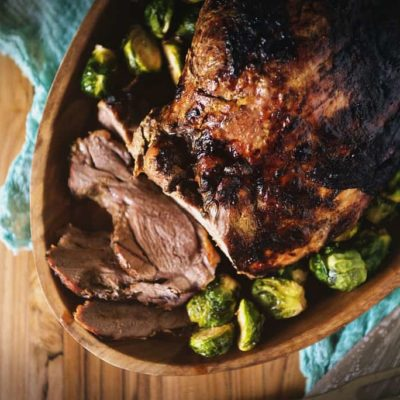 Fried Honey Dijon Leg of Lamb Recipe & Tips for using your Big Easy Oil-less Turkey Fryer