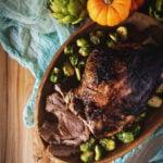Fried Honey Dijon Leg of Lamb Recipe | Kita Roberts GirlCarnivore.com