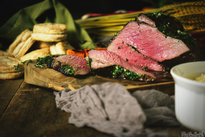 Herb Rubbed Top Round Roast Beef   Kita Roberts GirlCarnivore.com