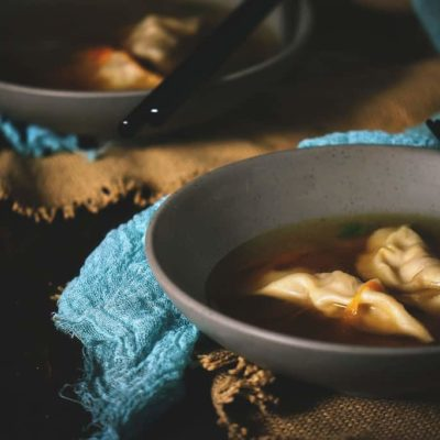 Homemade Dumpling Soup Recipe