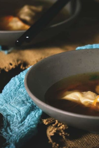 Homemade Dumpling Soup Recipe