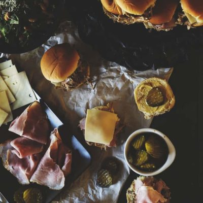 Slow Cooker Pork for Cuban Sliders