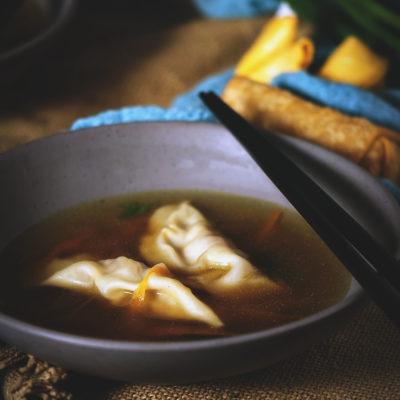 Homemade Dumpling Soup Recipe   Kita Roberts GirlCarnivore.com
