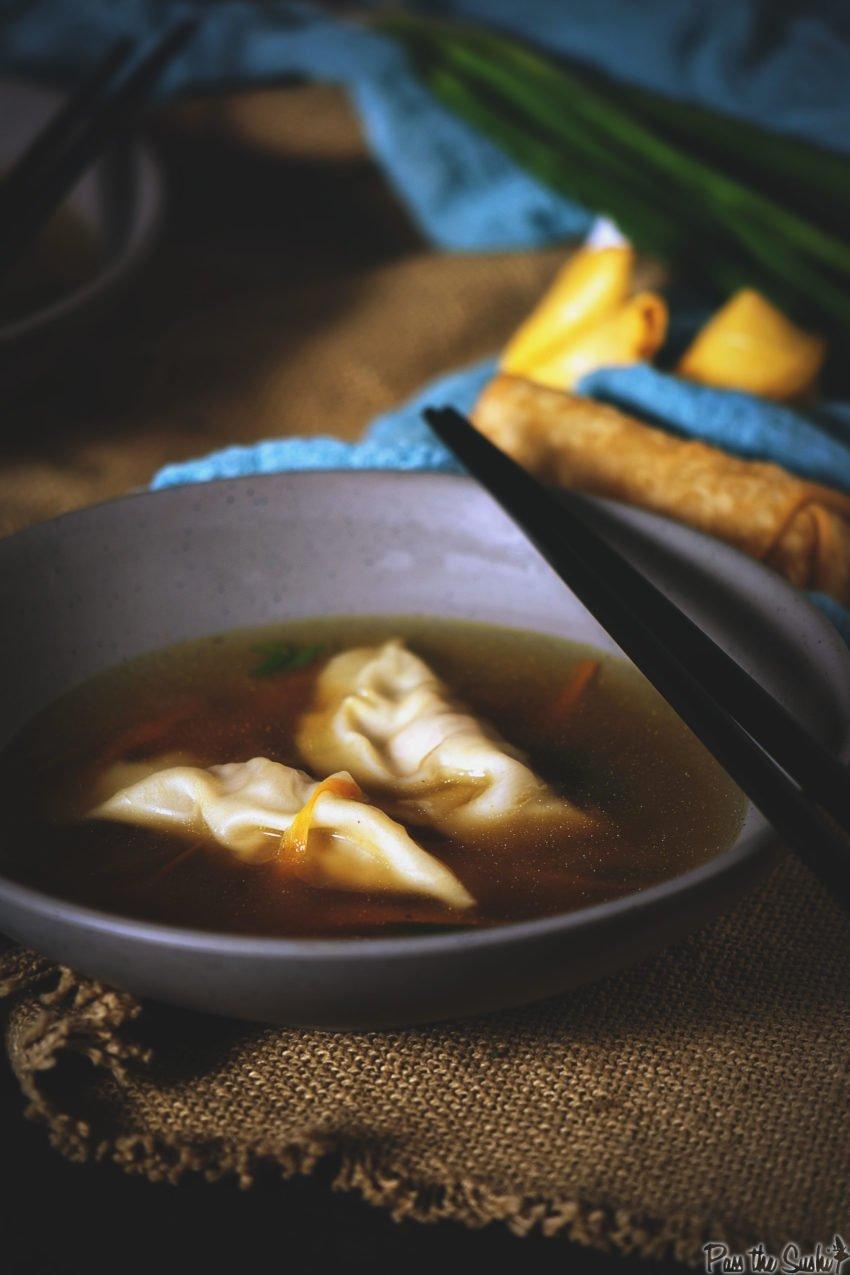 Homemade Dumpling Soup Recipe | Kita Roberts GirlCarnivore.com