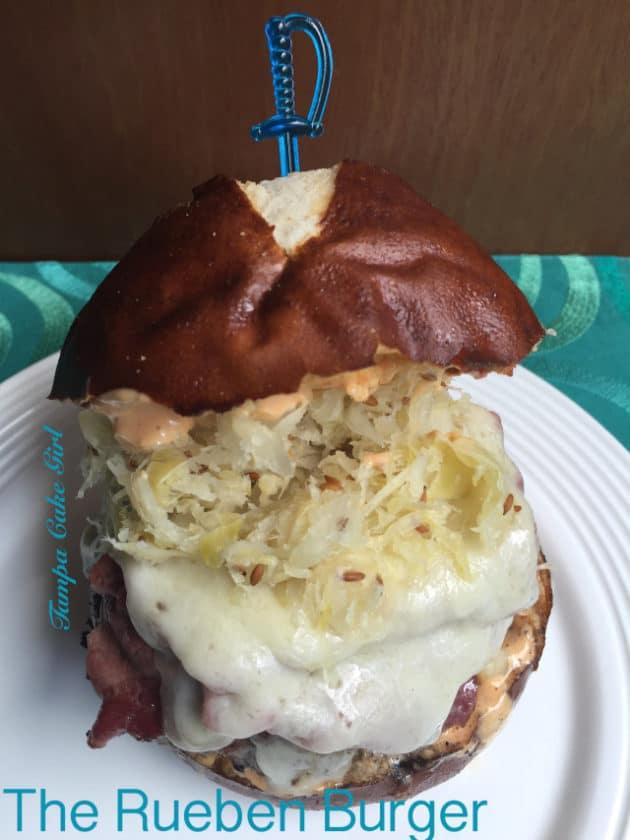 11 Rueben Burger Tama Cake Girl