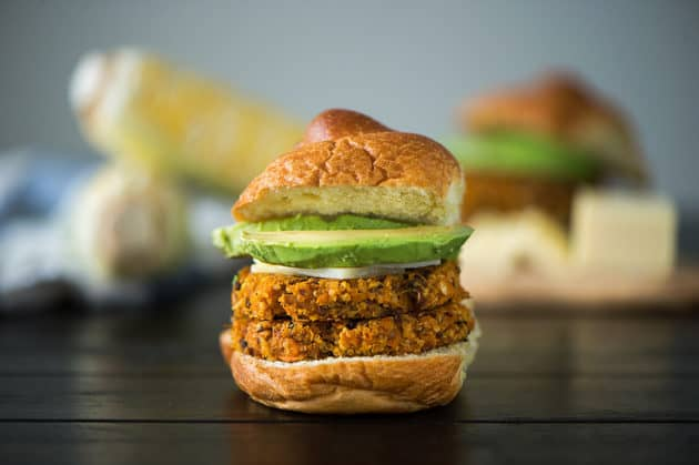 12 Sweet Potato Quinoa Burger - Alexandra Whitney