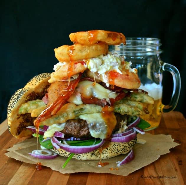 17 Farmers-Market-Burger Wild flours kitchen