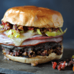 18 Muffaletta Burger Girls Can Grill