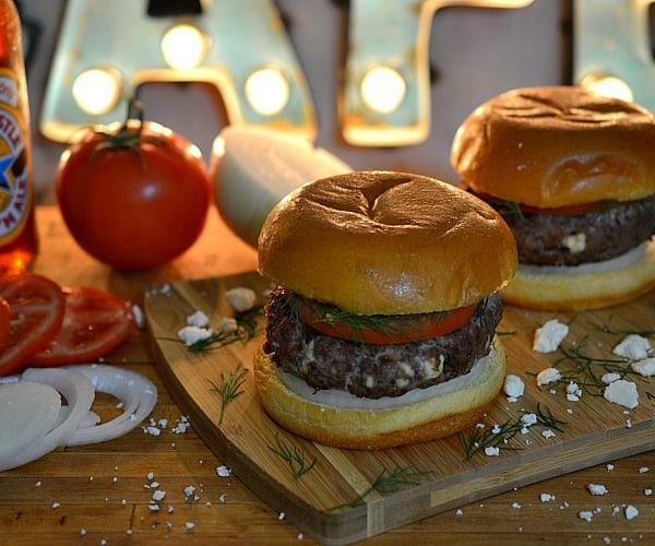 21 Dill-Feta-Venison-Burger Cafe Terra