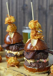 26 Piemento Cheeseburger Sliders Nibble Me This