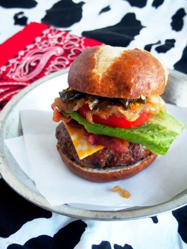 28 Cowboy Tumbleweed Burger Comfortably Domestic