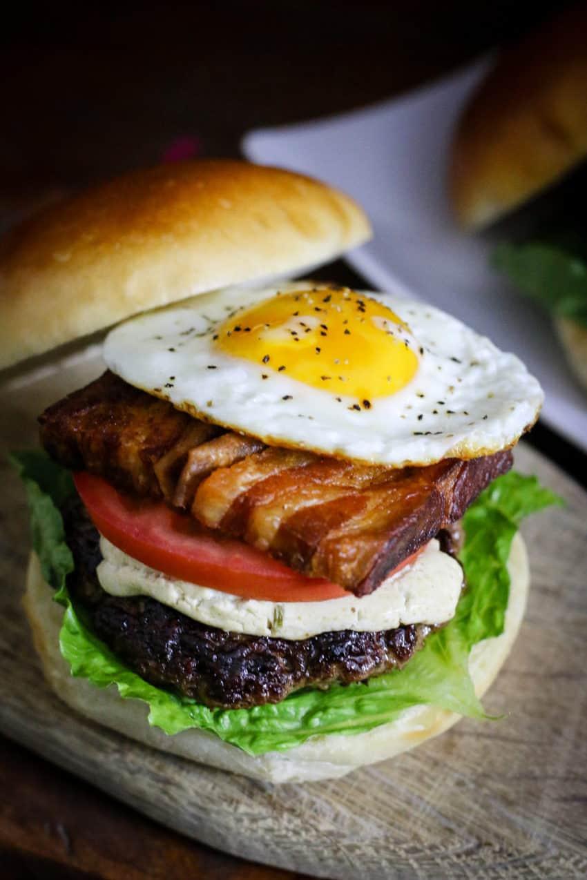 Barnyard Burger From Away