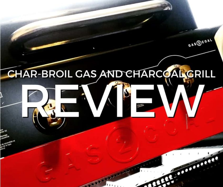 New 2016 Char-Broil Gas to Coal 4 burner grill review | GirlCarnivore.com