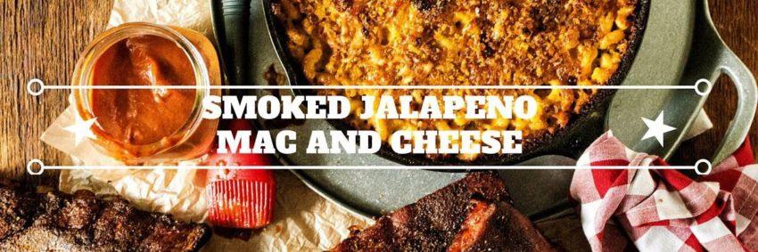 SMOKED JALAPENO MAC AND CHEESE