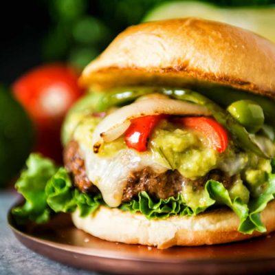 Char Grilled Fajita Burgers