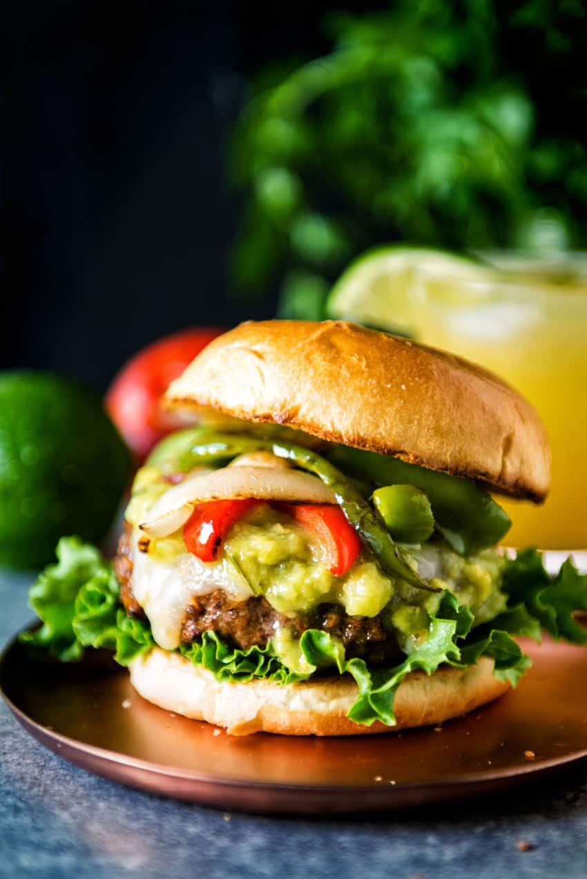 Fajitas just got an upgrade. RECIPE: Char Grilled Fajita Burgers