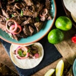 Lamb Barbacoa | Low and Slow Smoked Leg of Lamb | Kita Roberts GirlCarnivore.com