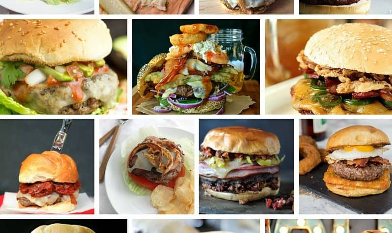 14 New Epic Burger Recipes for BurgerMonth