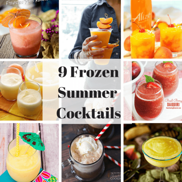 9 Frozen Summer Cocktails
