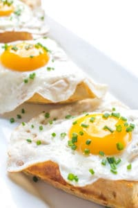 Cheddar-Chive-Waffles-with-Eggs-a-savory-waffle-breakfast-recipe-1