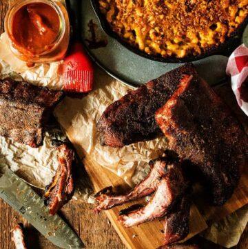 Memphis-Style Smoked Pork Ribs