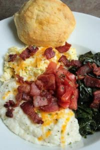 Perfect Grits and Greens