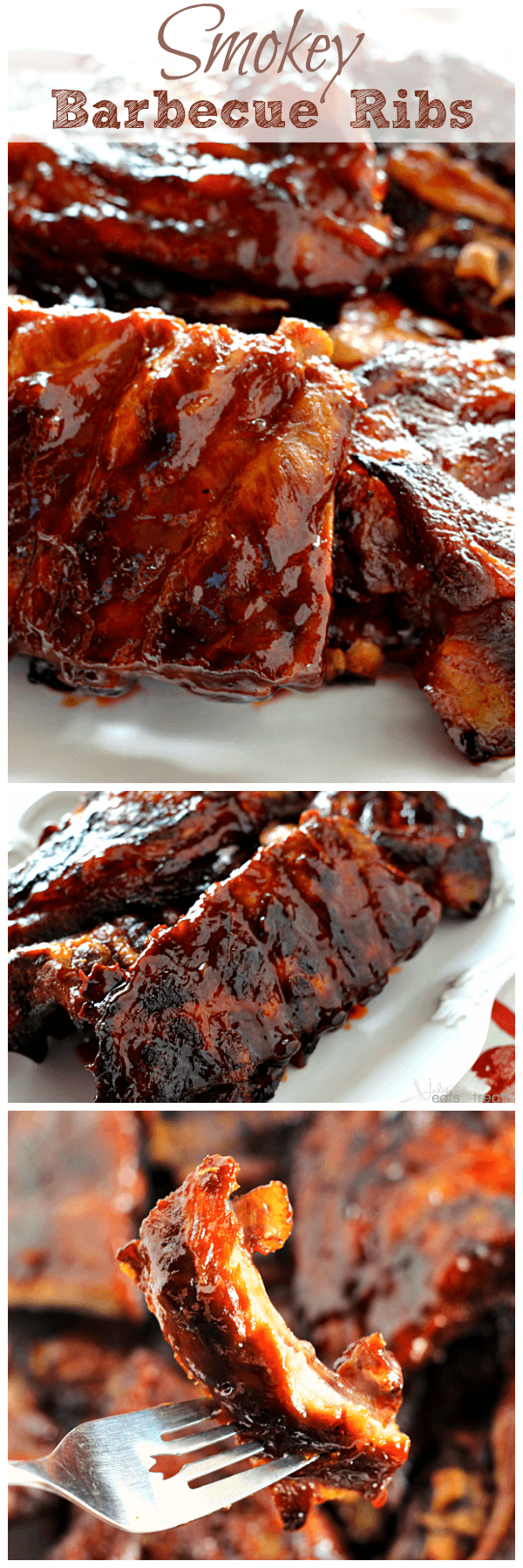 Smokey Barbecue Ribs