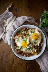 chorizo-and-plantain-breakfast-skillet-1