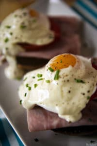 quick easy eggs benedict