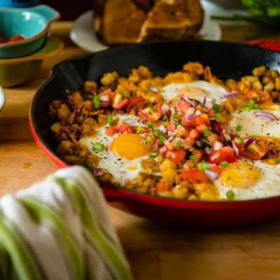Spicy Chipotle Breakfast Hash