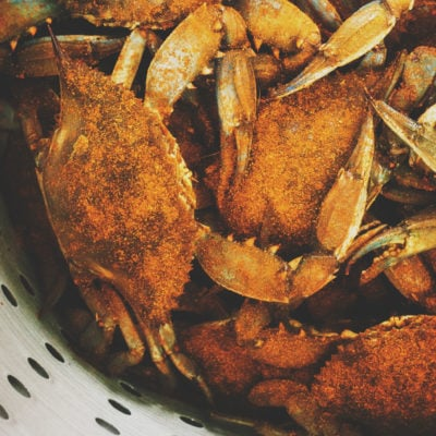 How to Steam Fresh Blue Crabs | Kita Roberts GirlCarnivore