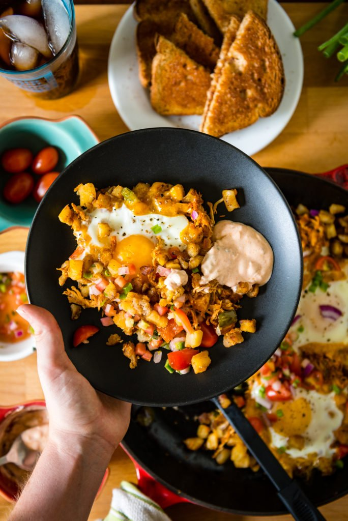 Spicy Chipotle Breakfast Hash | Kita Roberts GirlCarnivore.com