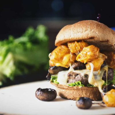 The Spud Muffin Burger