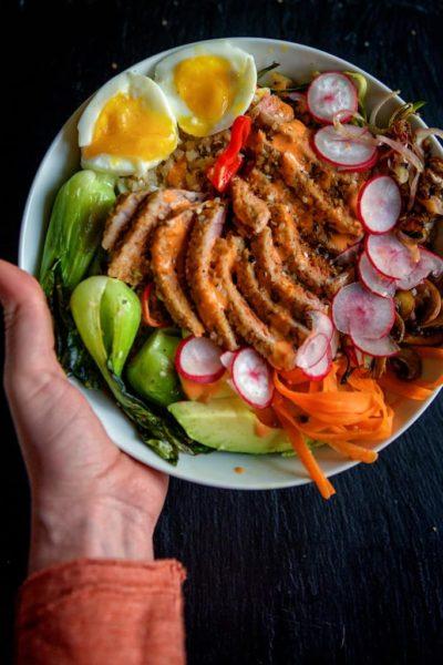 Paleo Sesame Tuna Bowls