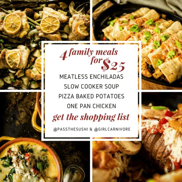 Grab the shopping list!