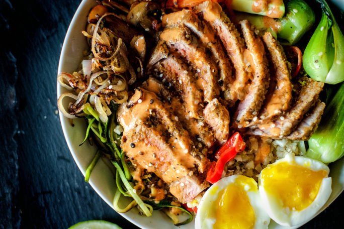 Paleo Sesame Tuna Bowls | Kita Roberts GirlCarnivore