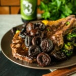 Easy Red Wine and Shallot Pan Sauce for Steaks | Kita Roberts GirlCarnivore.com