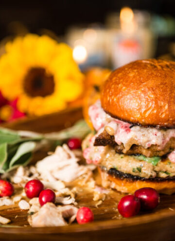 Thanksgiving Leftovers? Black Friday Turkey Burger Recipe | Kita Roberts GirlCarnivore.com