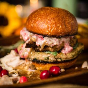 Thanksgiving Leftovers? Black Friday Turkey Burger Recipe | Kita Roberts GirlCarnivore.com