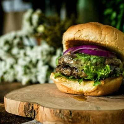Argentinian Chimichurri Butter Burger
